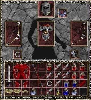 Diablo 1 инвентарь