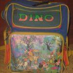 Школьный портфель 90-ых.Dino