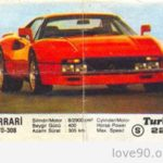 Вкладыш Turbo.Ferrari GTO-308