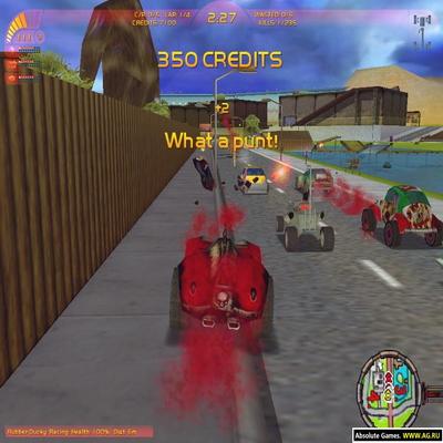 Carmageddon TDR2000.Игры девяностых