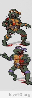 Мультяшки 90-ых - Зомби.