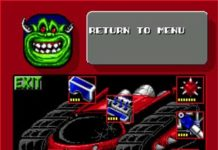 Гонки рок'н'ролл ( Rock n' Roll Racing) ( Sega )