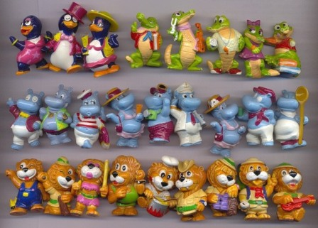 игрушки из киндер-сюрприза фото