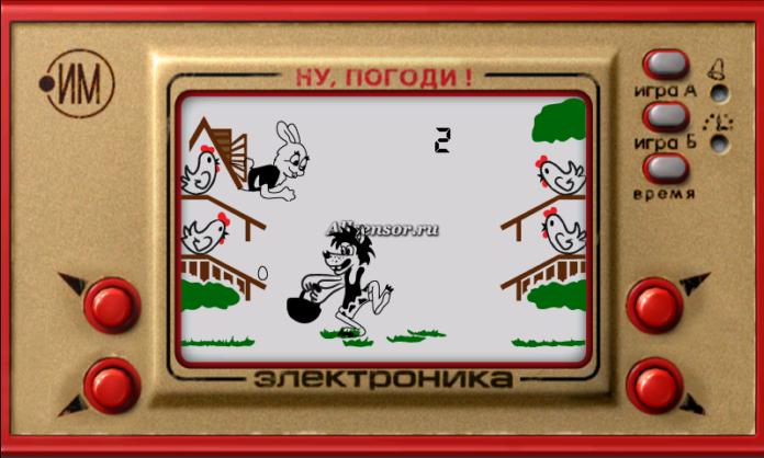 Волк яйцелов игра