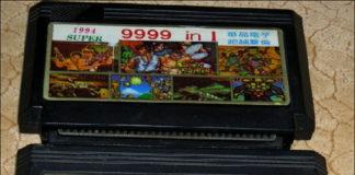 Заставка картриджа «Денди» 9999