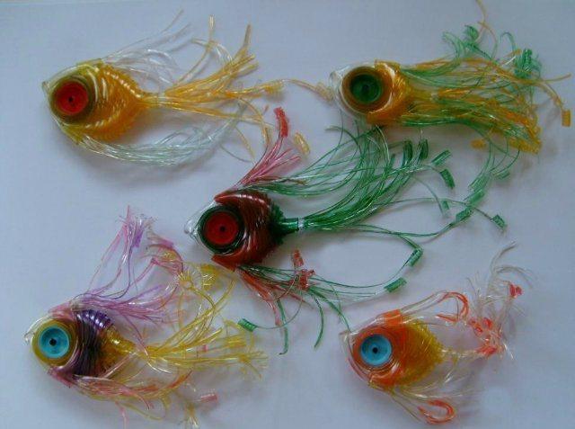 Игрушки из капельниц