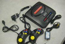 Игровая приставка - Sega Mega Drive
